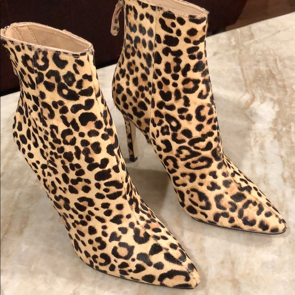 1ad6c2e6f50 Carey Leopard Bootie NEW! Sizes 6.5